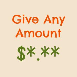 give any amount
