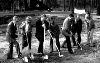 Groundbreaking of Learning Center