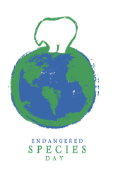 endangered species day event logo